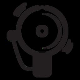 Ícone de campainha de alarme de bombeiro