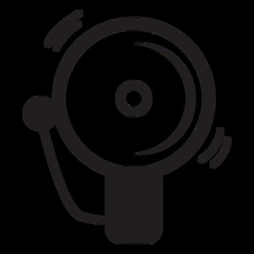 Ícone de campainha de alarme de bombeiro Transparent PNG
