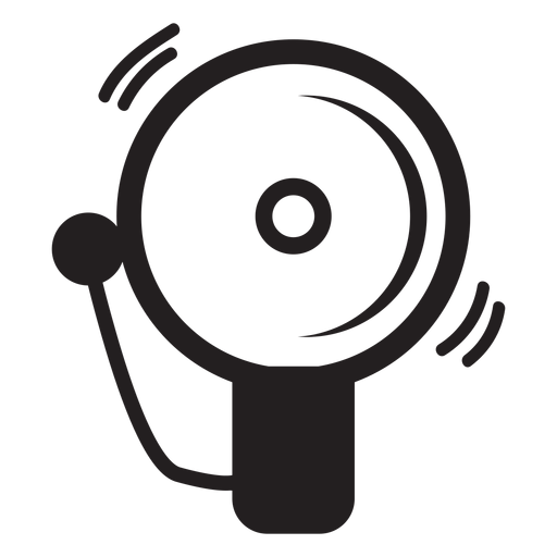 Firefighter alarm bell icon Transparent PNG