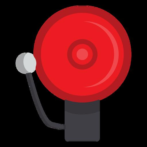 Ilustración de campana de alarma de bombero Transparent PNG