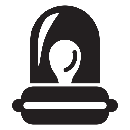 Icono de luz de alarma de bombero Transparent PNG