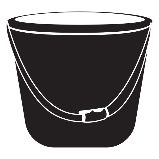Firefighter bucket icon Transparent PNG