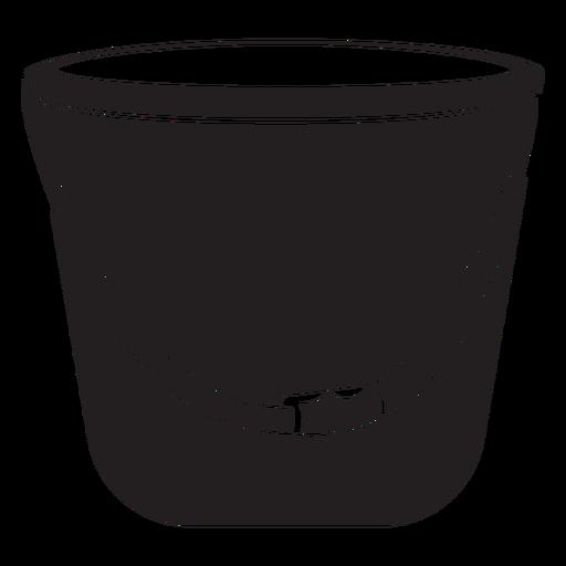 Firefighter bucket icon