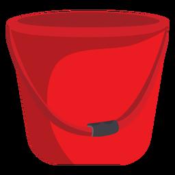 Ilustración de cubo de bombero