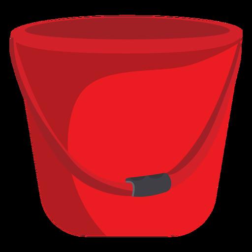 Firefighter bucket illustration