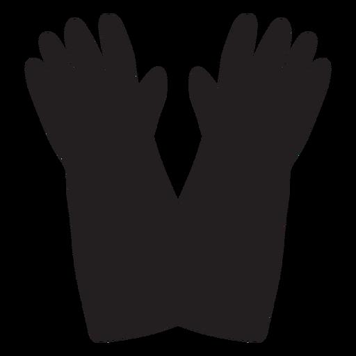 Ícone de luvas de bombeiro Transparent PNG