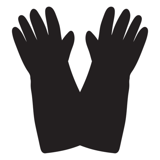 Firefighter gloves icon Transparent PNG