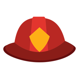 Firefighter hat icon