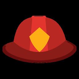 Icono de sombrero de bombero