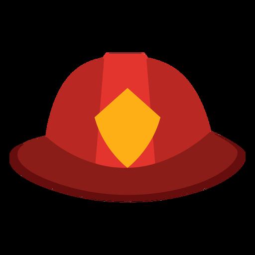 Ícone de chapéu de bombeiro Transparent PNG