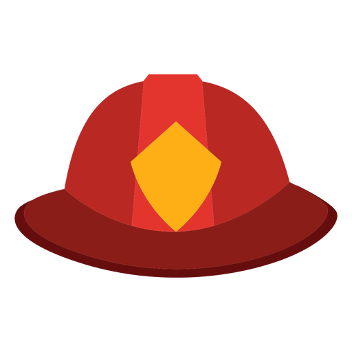 Firefighter hat icon Transparent PNG