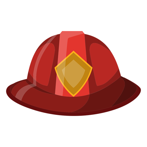Firefighter hat illustration Transparent PNG