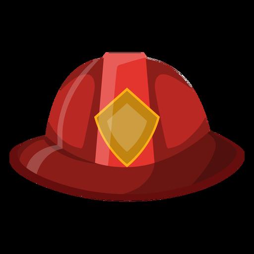 Firefighter hat illustration