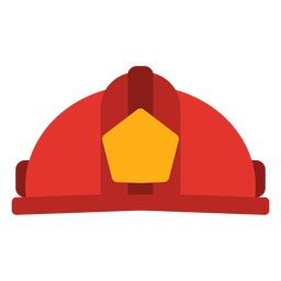 Vector de sombrero de bombero