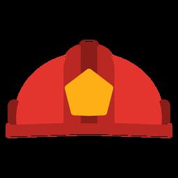 Vetor de chapéu de bombeiro