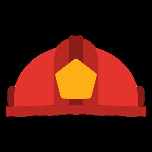 Firefighter hat vector Transparent PNG