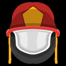 Clipart de capacete de bombeiro