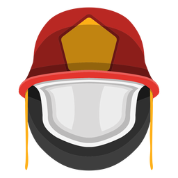 Firefighter helmet clipart