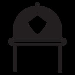 Ícone de capacete de bombeiro