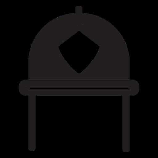Ícone de capacete de bombeiro Transparent PNG