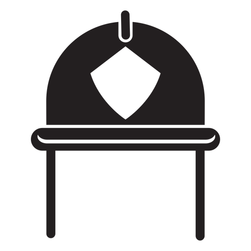 Firefighter helmet icon Transparent PNG
