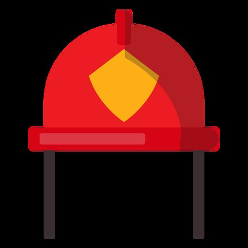 Ilustración de casco de bombero Transparent PNG