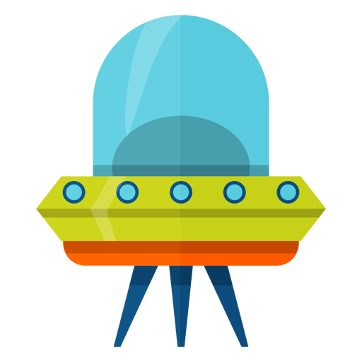 Flying saucer illustration Transparent PNG