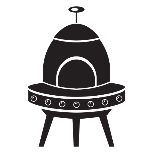 Flying saucer kids flat icon Transparent PNG