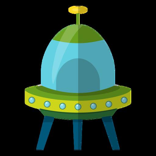 Flying saucer kids illustration Transparent PNG