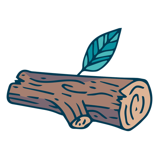 Forest tree log cartoon Transparent PNG