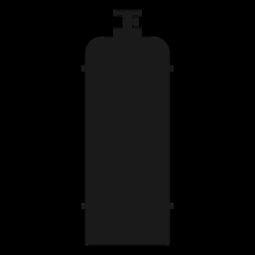 Silueta de la botella de gas Transparent PNG