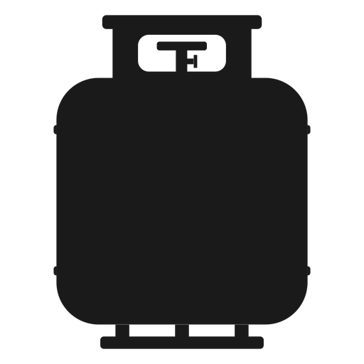 Gas tank silhouette Transparent PNG