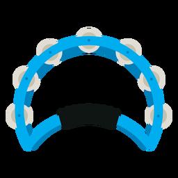 Icono de instrumento de pandereta de mano