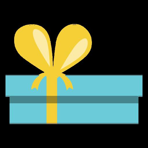 Caja de regalo azul de Hanukkah