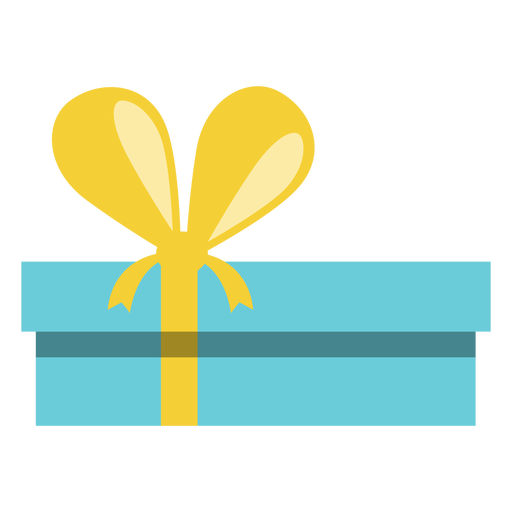 Chanukka-Blau-Geschenkbox Transparent PNG