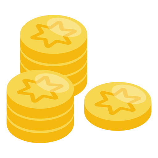 Hanukkah gelt icon Transparent PNG