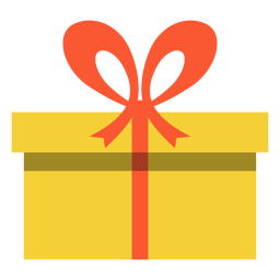 Hanukkah gelbe Geschenkbox