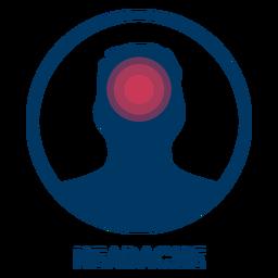 Icono de dolor de cabeza