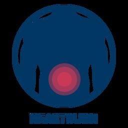Heartburn icon