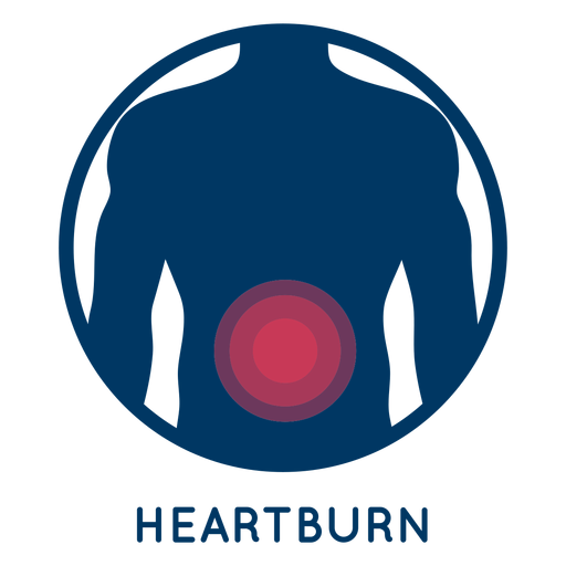 Heartburn icon Transparent PNG