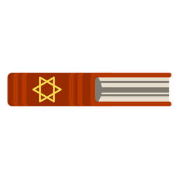 Hebrew bible book icon