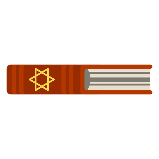 Ícone de livro bíblico hebraico Transparent PNG