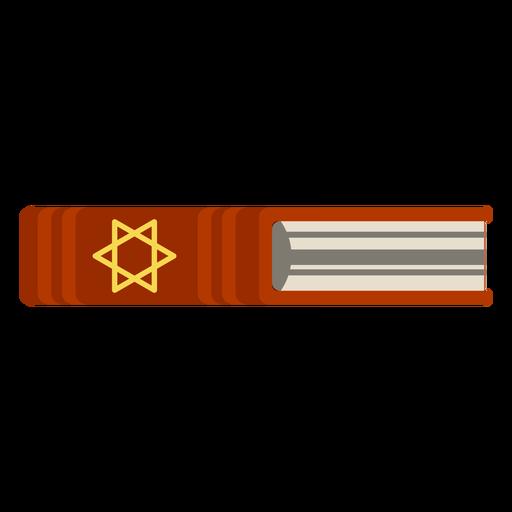 Icono de libro de la Biblia hebrea Transparent PNG