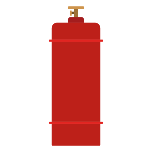 High pressure gas cylinder icon Transparent PNG
