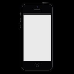 Iphone schwarzes Smartphone-Modell