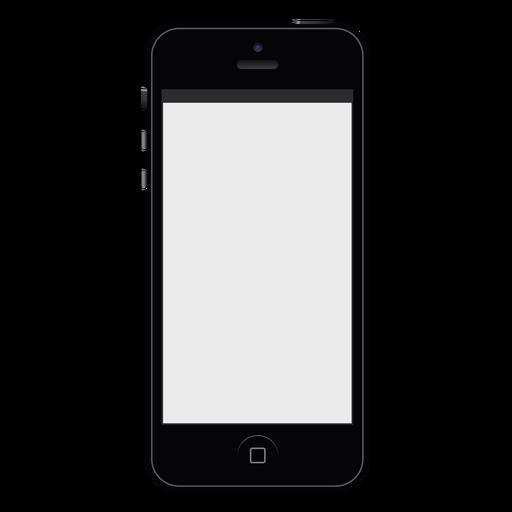 IPhone negro smartphone