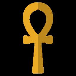 Ilustración de símbolo de llave de vida