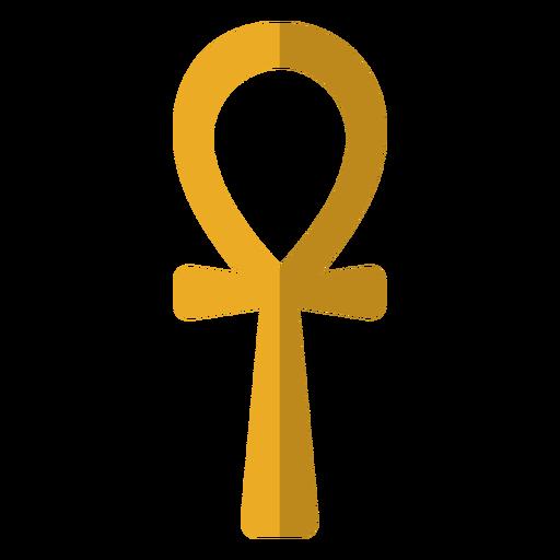 Ilustración de símbolo de llave de vida Transparent PNG