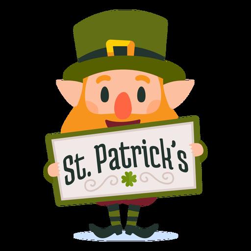 Kobold St. Patricks Cartoon Transparent PNG