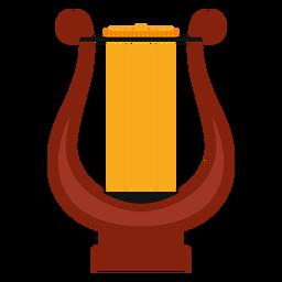 Ícone de instrumento musical de lira